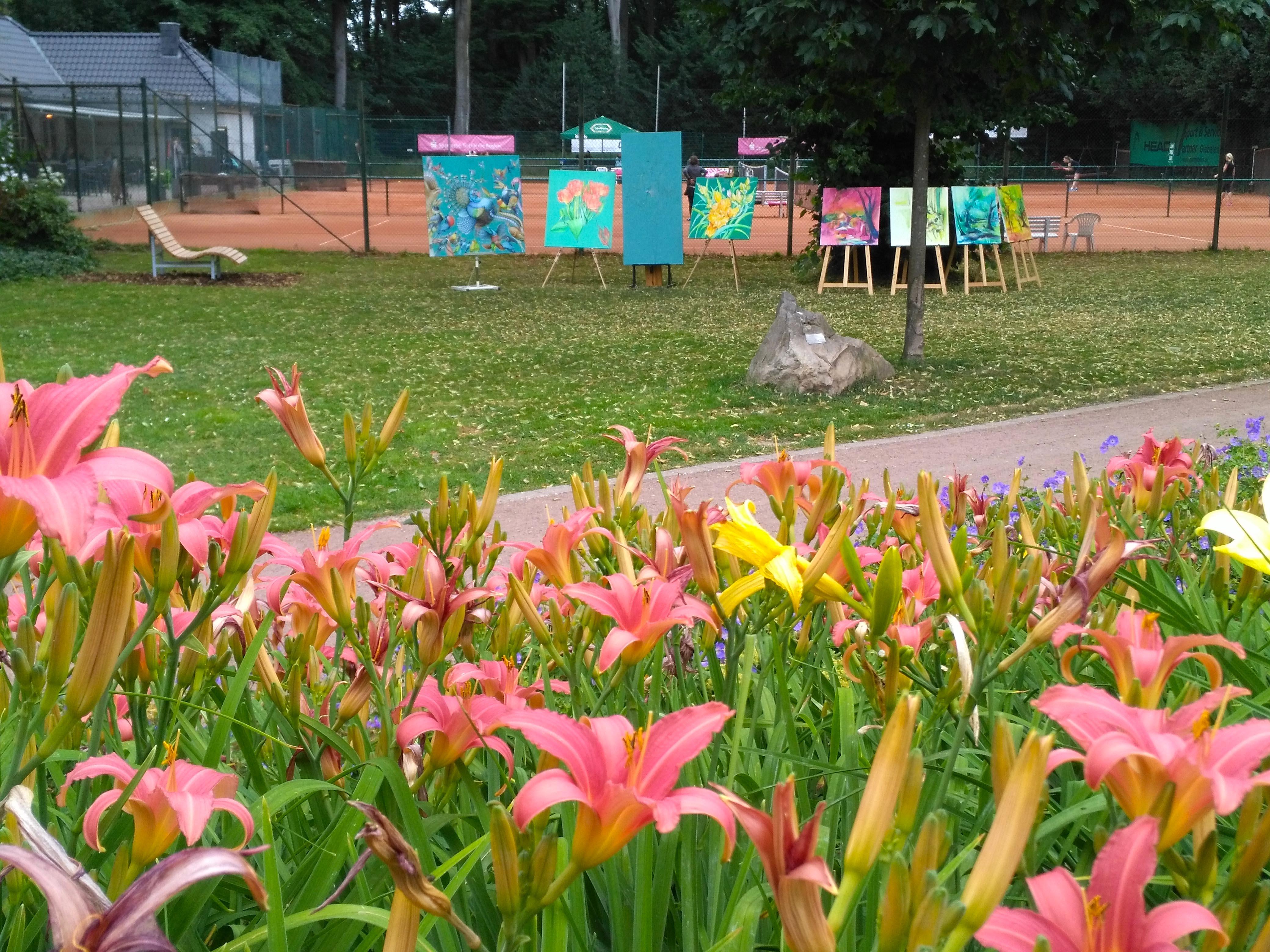 Malen im Park 2